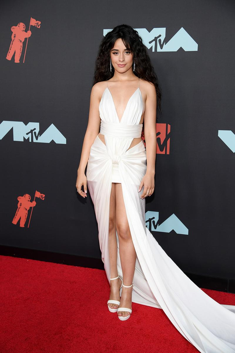 mtv video music awards 2019 red carpet camila cabello