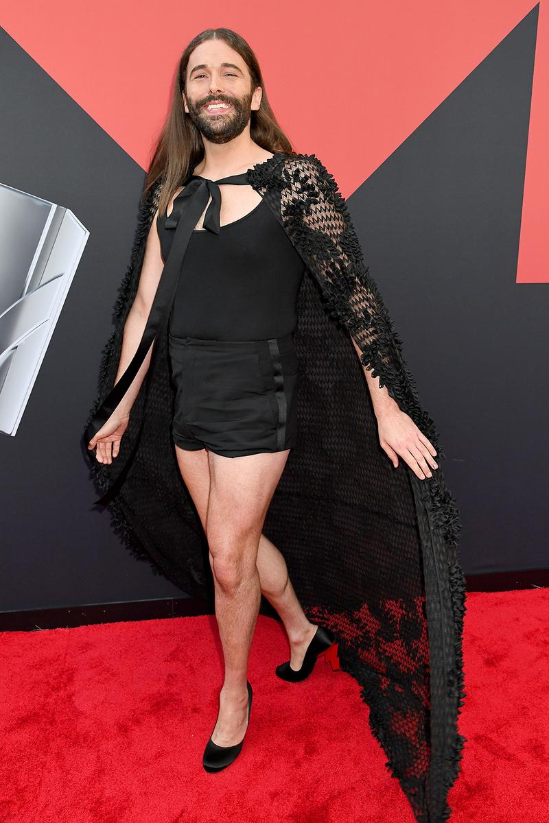 mtv video music awards 2019 red carpet jonathan van ness jvn queer eye