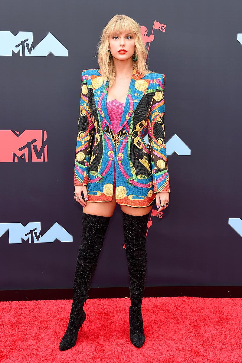 mtv video music awards 2019 red carpet taylor swift