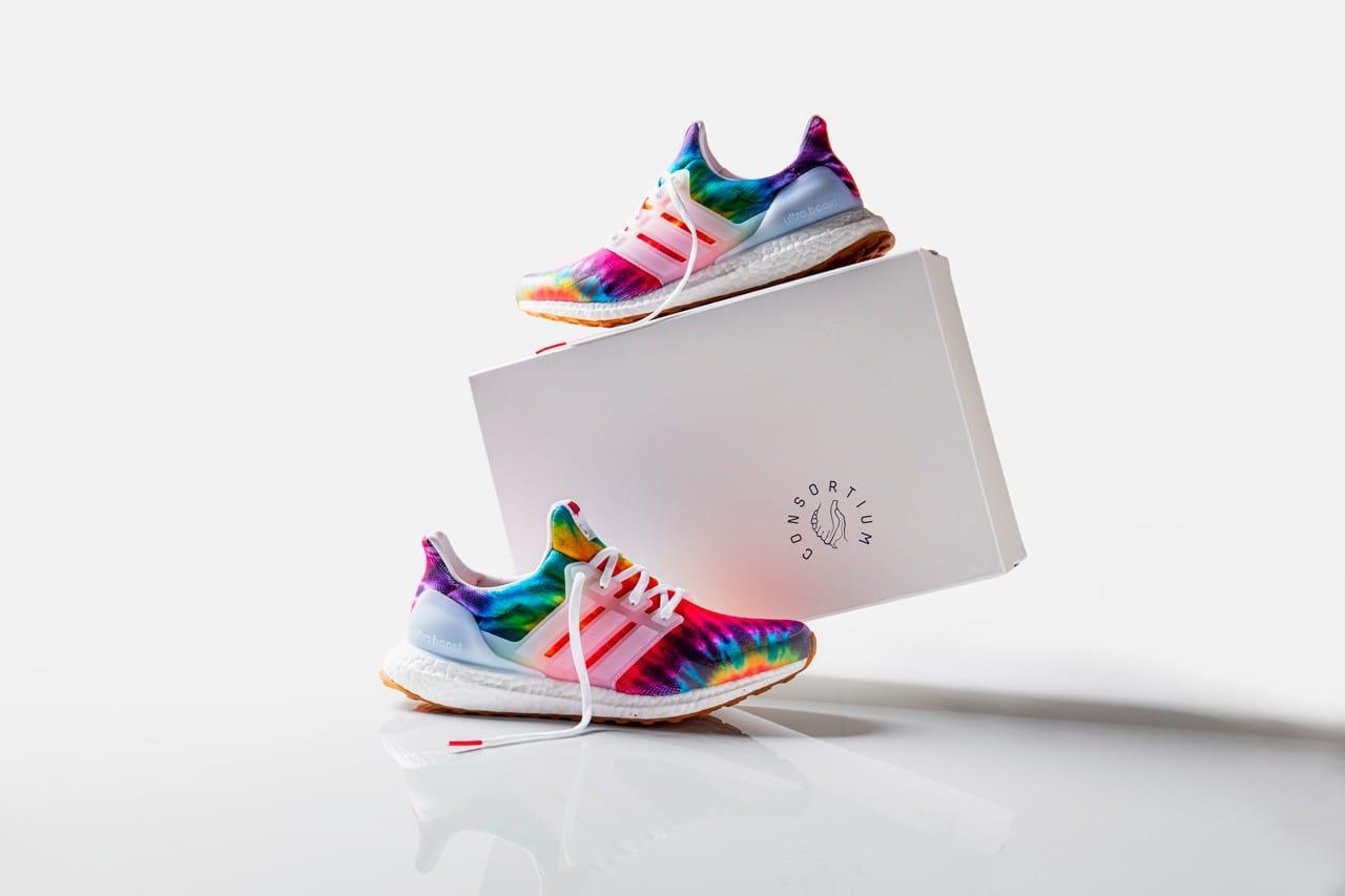 Nice Kicks x adidas Tie-Dye UltraBOOST
