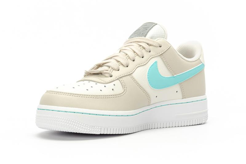 nike air force 1 low womens sneakers beige green