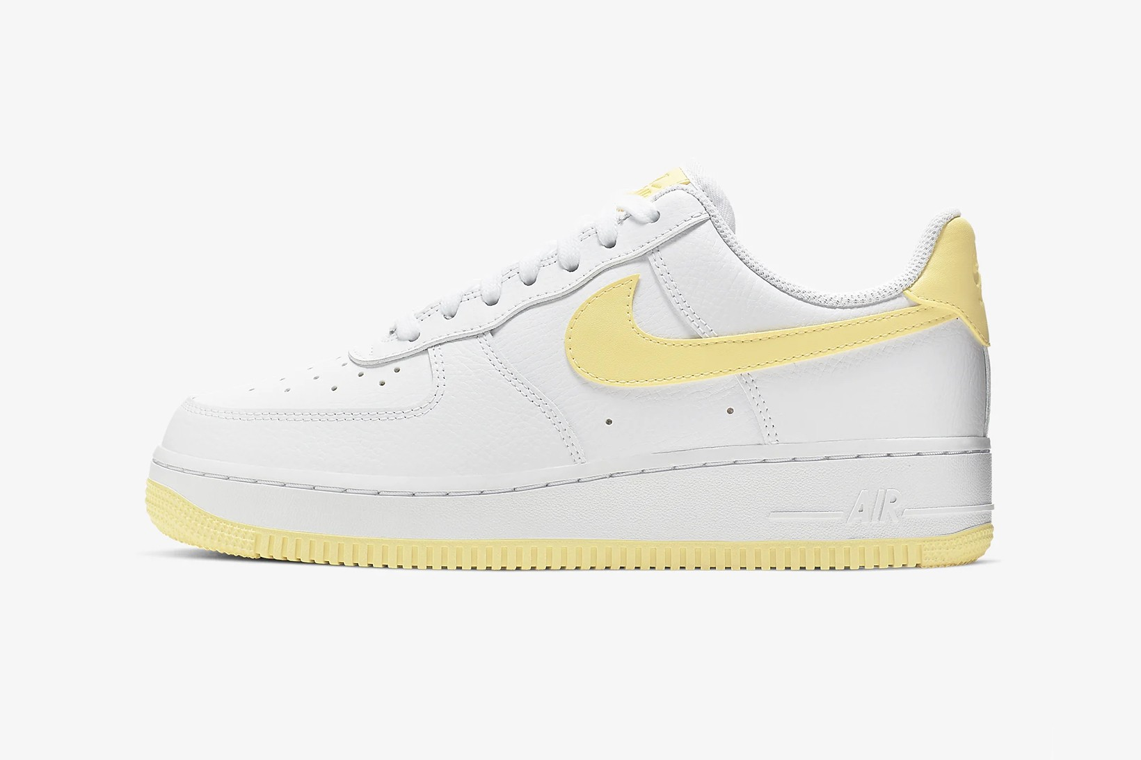 air force 1 with yellow swoosh