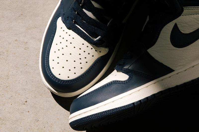 nike air jordan 1 sneakers obsidian blue white black release date