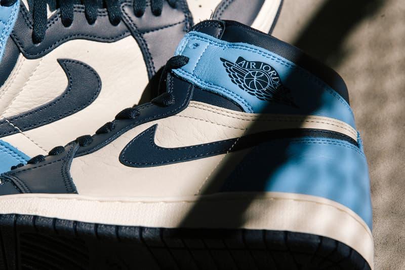 nike air jordan 1 sneakers obsidian blue white black release date
