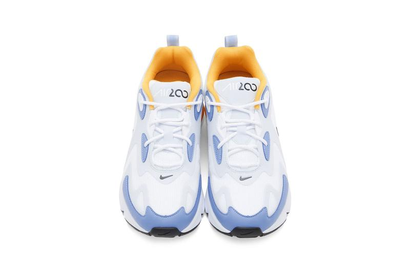nike air max 200 womens sneakers pastel blue yellow