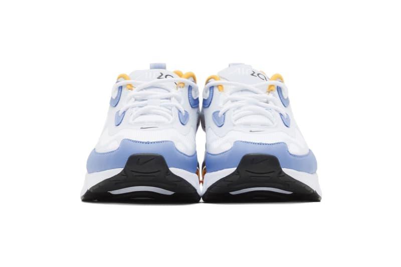 nike air max 200 womens sneakers pastel blue yellow