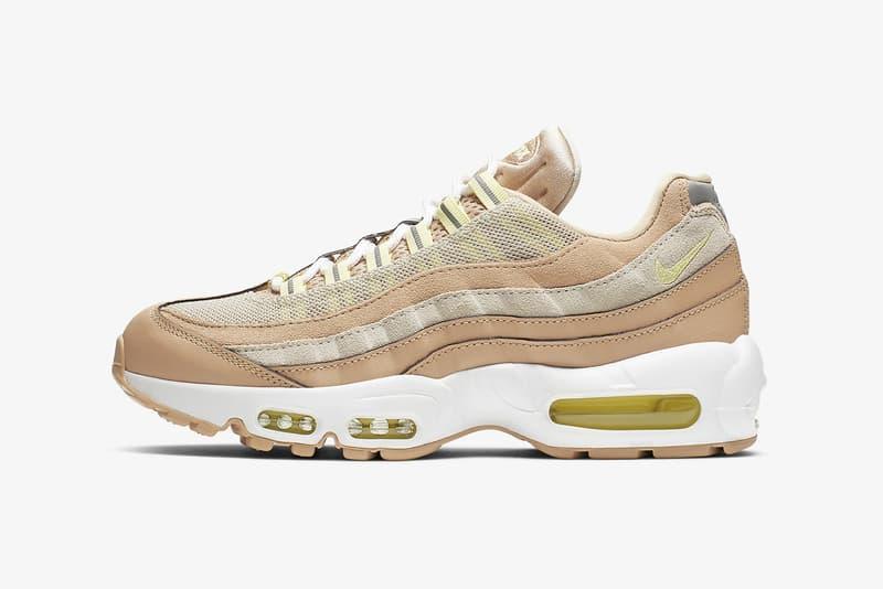 nike air max 95 womens sneakers beige brown white green footwear shoes sneakerhead