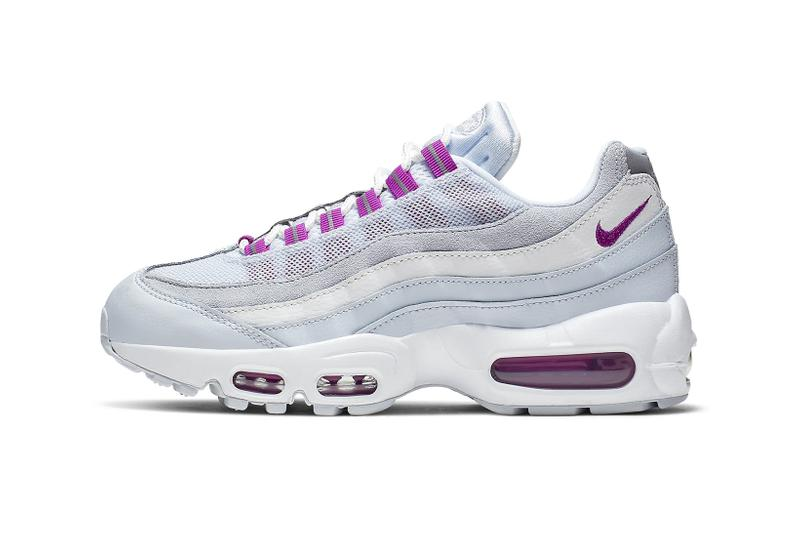 nike air max 95 womens sneakers pastel blue teal purple violet white grey royal pulse hyper violet