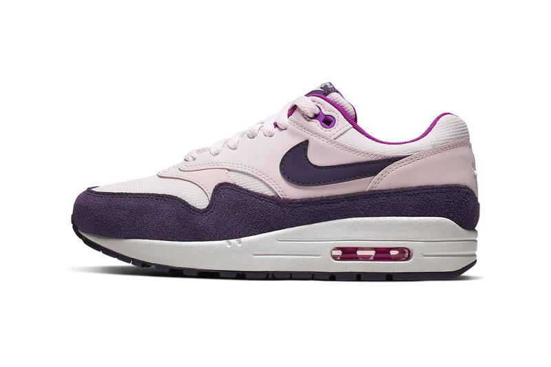 nike air max 1 womens sneakers light soft pink purple hyper violet