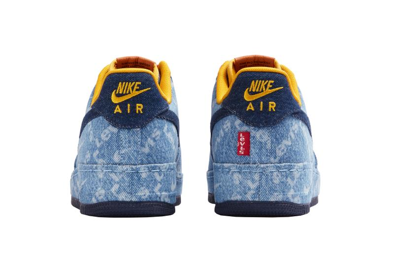 Nike By Levis Air Force 1 Low Indigo