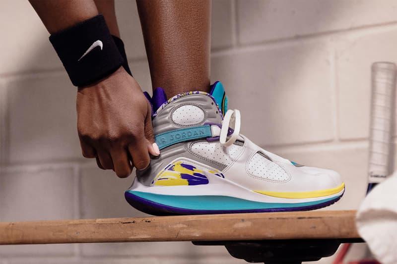 nike nikecourt air zoom zero aqua womens sneakers white purple blue yellow air jordan viii