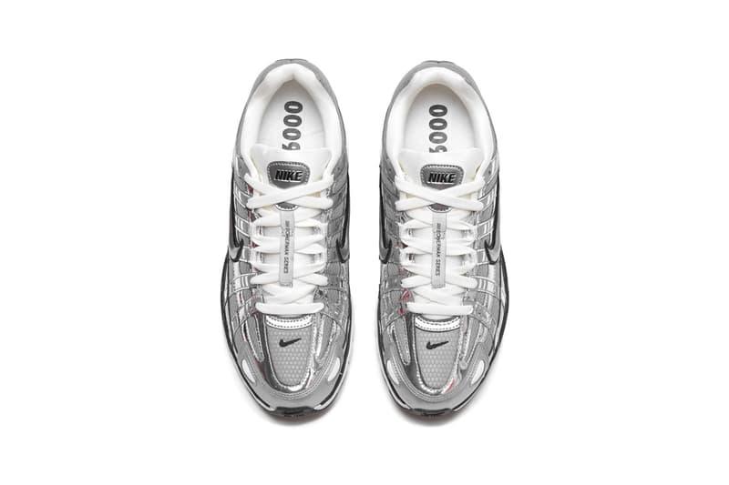 Nike P-6000 Metallic Silver