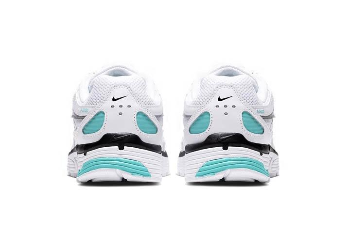 Nike P-6000 White Black Icy Silver Aqua Sneaker Shoe Trainer Footwear Turquoise Blue Chunky Dad Creps Retro Old School