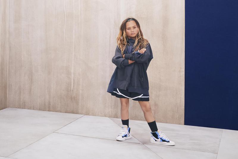 sacai x Nike Full Collection LDV Waffle Blazer Mid Release Date Campaign Naomi Osaka Ad Sneaker Shoe Drop Pink Green Yellow Black White