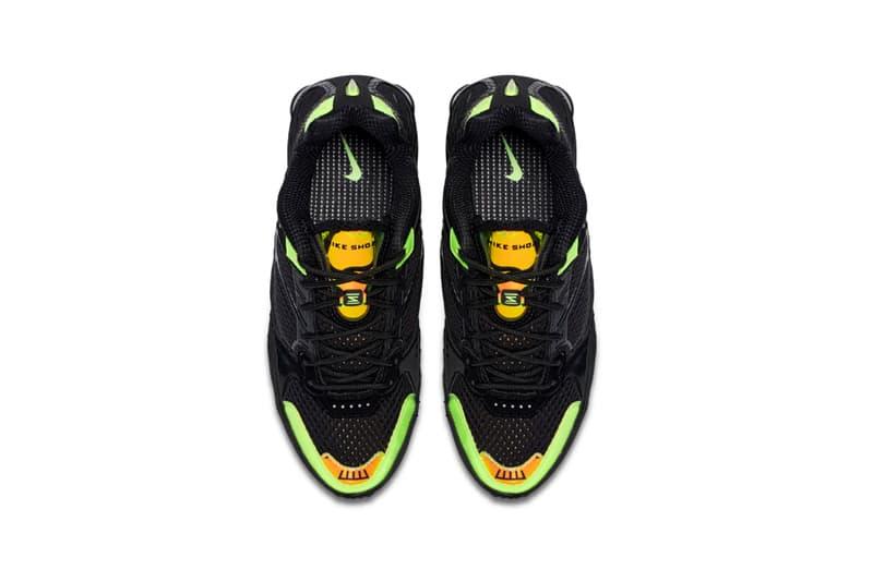 Nike Shox Enigma Lime Blast
