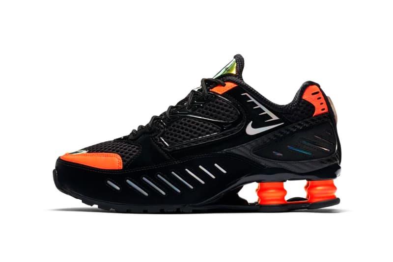 Nike Shox Enigma Hyper Crimson Black