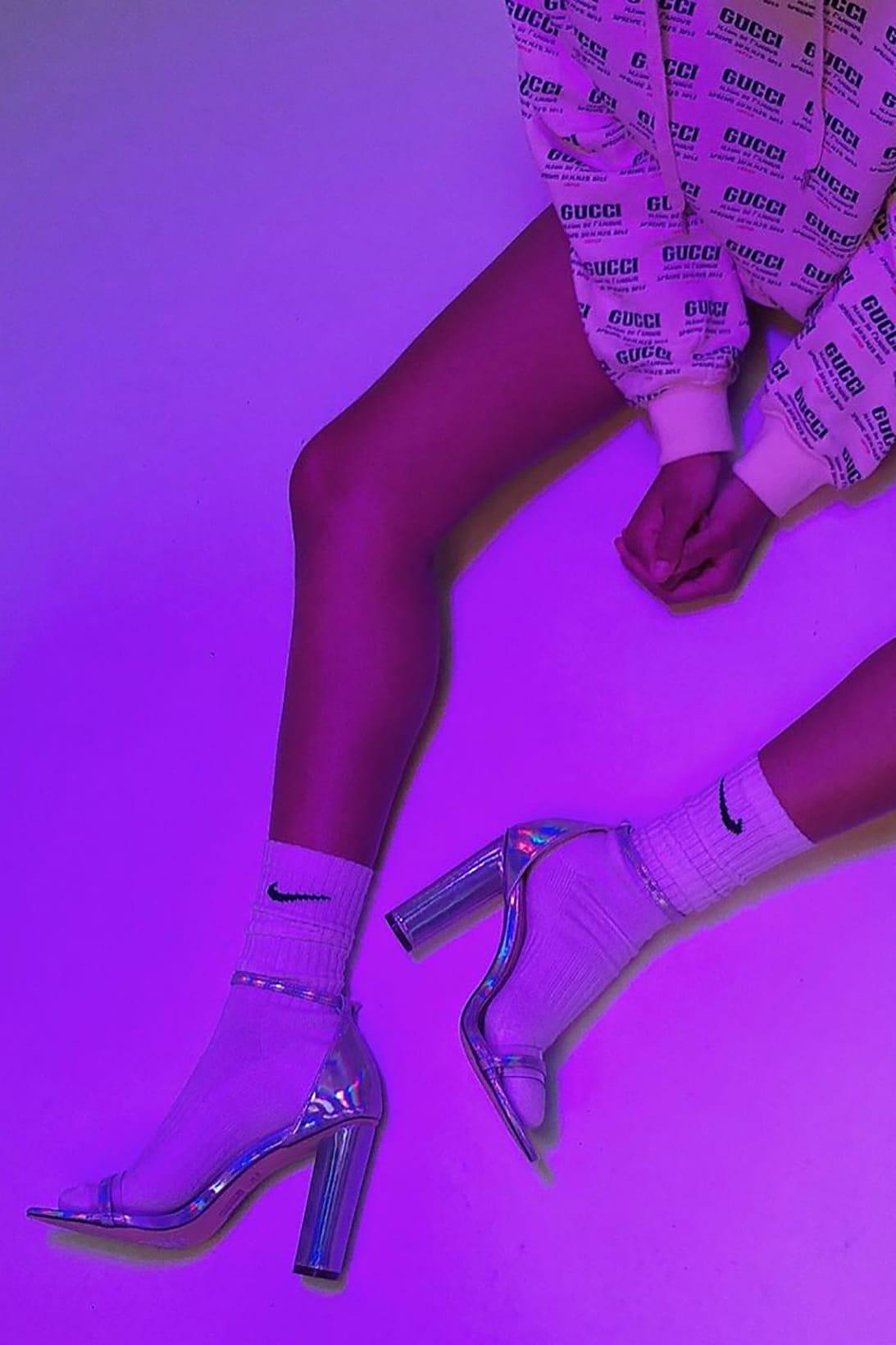 5 Chic Ways to Style the Nike Sock \u0026 Heel Combo