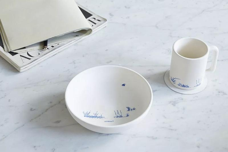 Off White HOME Collection Ceramics White