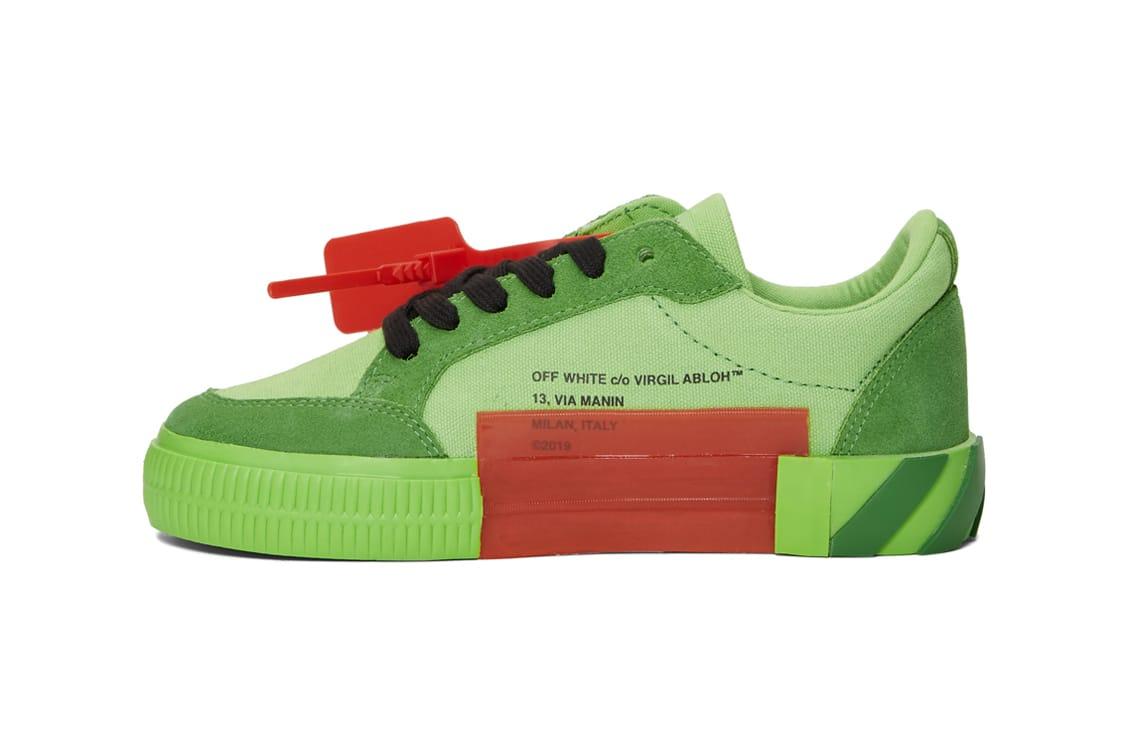 Shop Off-White Low Vulcanized Sneaker