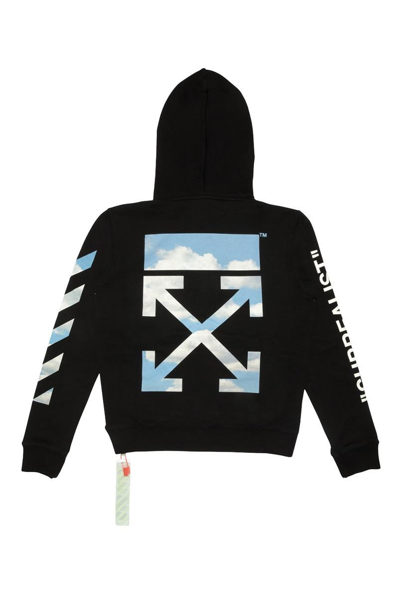 off-white virgil abloh surrealist industrial belt cloud art rene magritte hoodie socks t-shirt