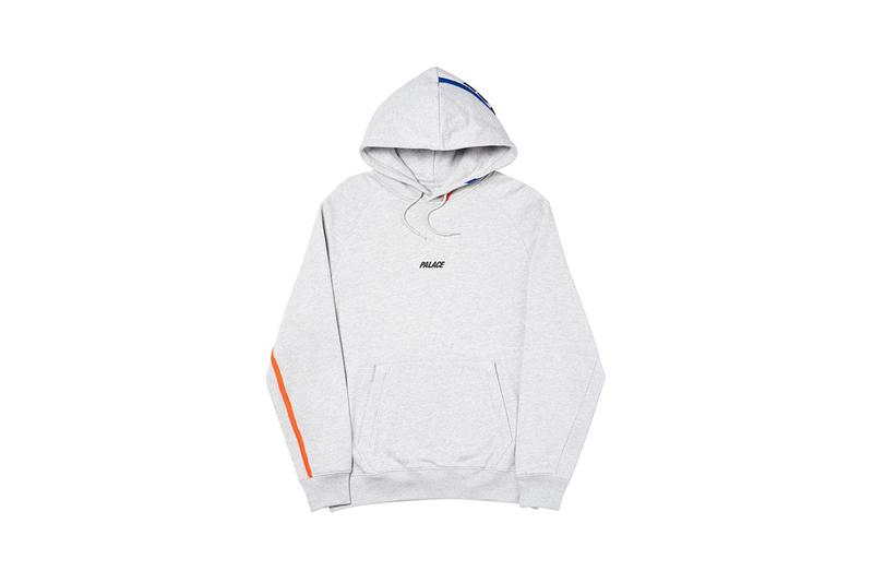 Palace Fall Winter 2019 Drop 2 Hoodie Grey
