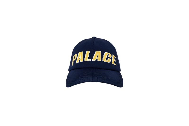 Palace Fall Winter 2019 Drop 2 Dad Hat Yellow Black