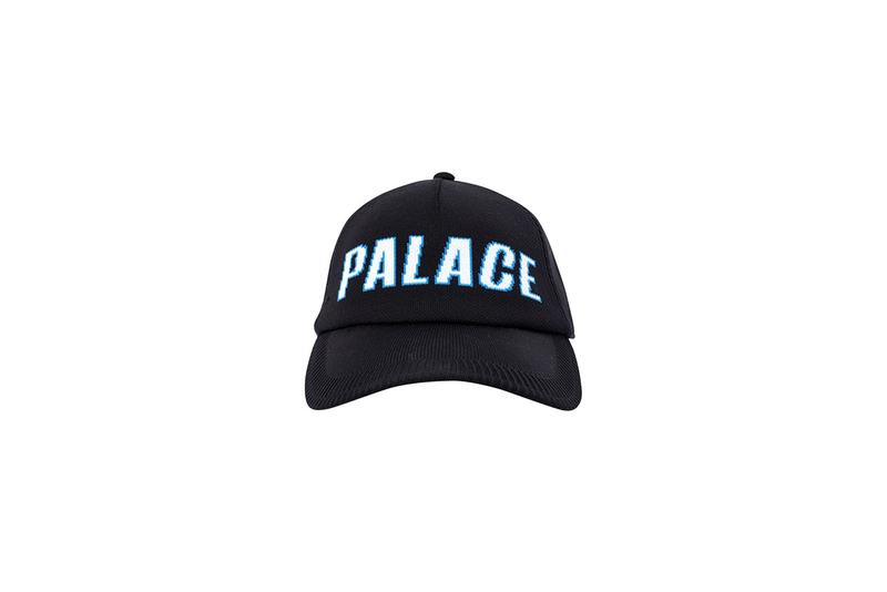 Palace Fall Winter 2019 Drop 2 Dad Hat Blue Black
