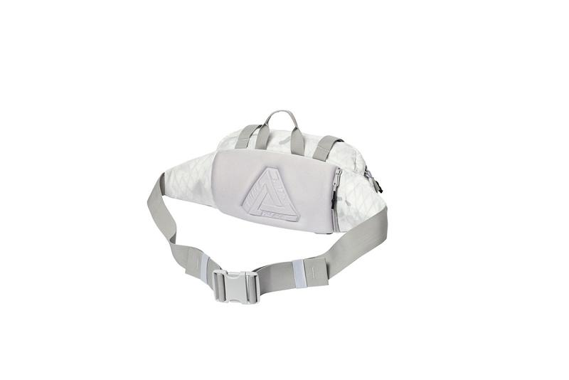 Palace Fall Winter 2019 Drop 2 Fanny Pack Camouflage Grey