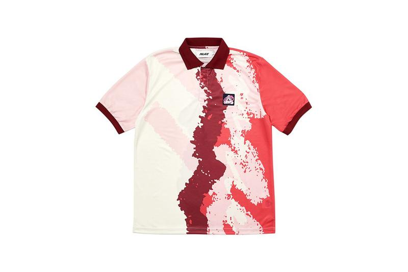 Palace Fall Winter 2019 Drop 2 Tie Dye Shirt Red