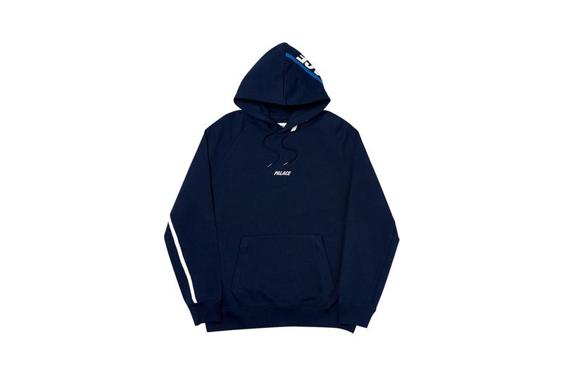 Palace Fall Winter 2019 Drop 2 Hoodie Navy
