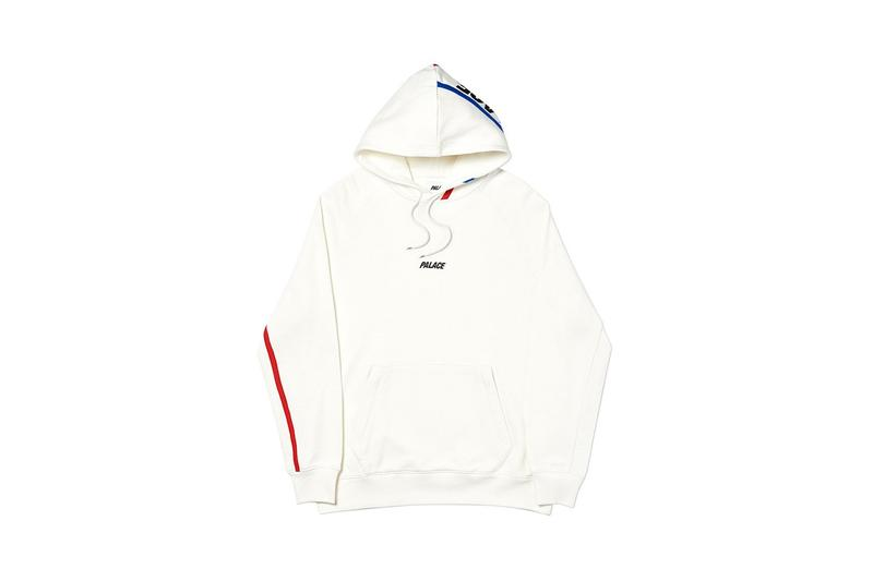 Palace Fall Winter 2019 Drop 2 Hoodie Cream