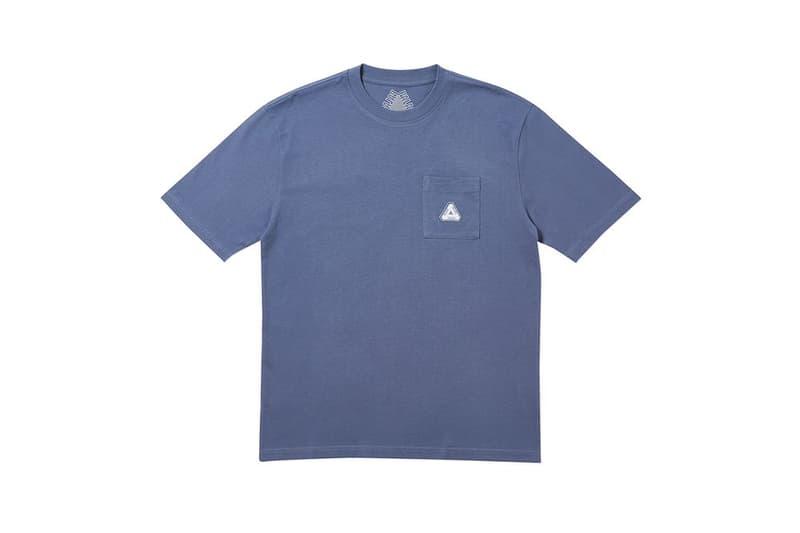Palace Fall Winter 2019 August Drop 3 Shirt Blue