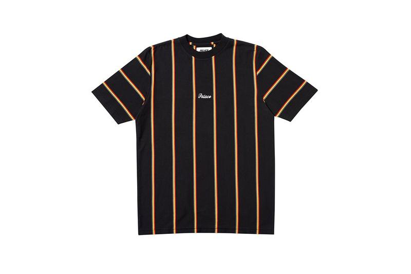 Palace Fall Winter 2019 August Drop 3 Striped Shirt Black