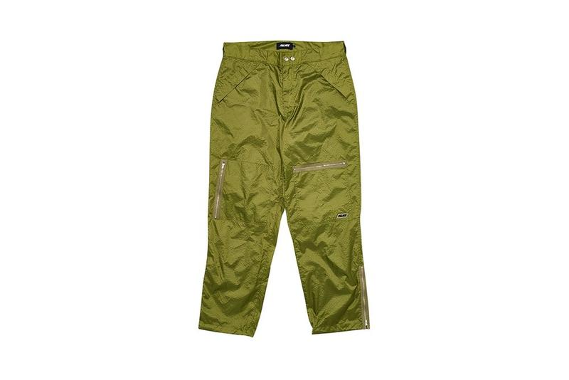 Palace Fall Winter 2019 August Drop 3 Jogger Pants Green