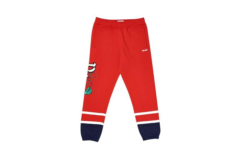 Palace Fall Winter 2019 August Drop 3 Jogger Pants Red