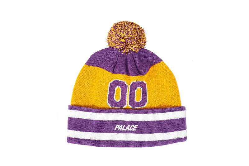 Palace Fall Winter 2019 August Drop 3 Hat Yellow Purple