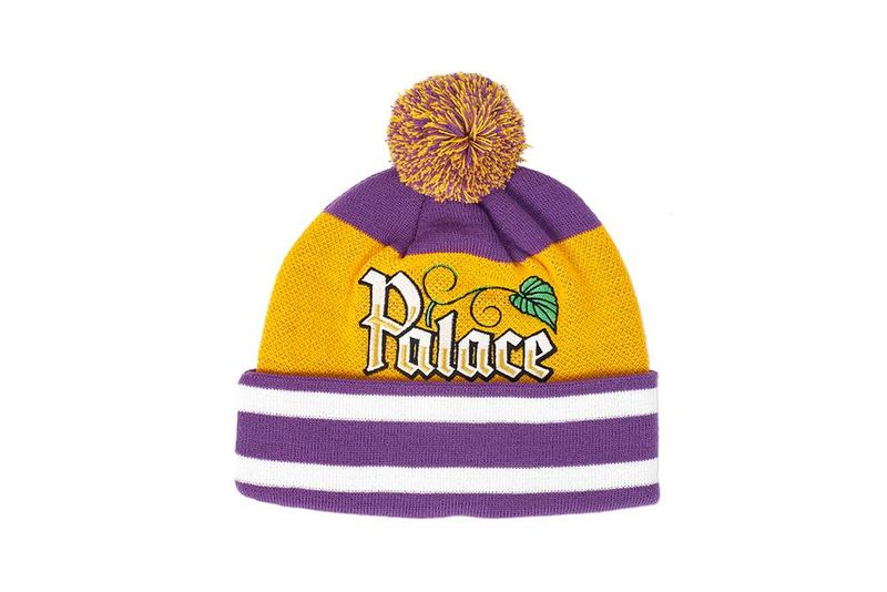 Palace Fall Winter 2019 August Drop 3 Hat Purple Yellow