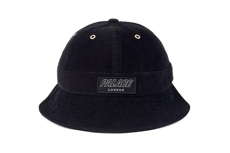 Palace Fall Winter 2019 August Drop 3 Hat Black