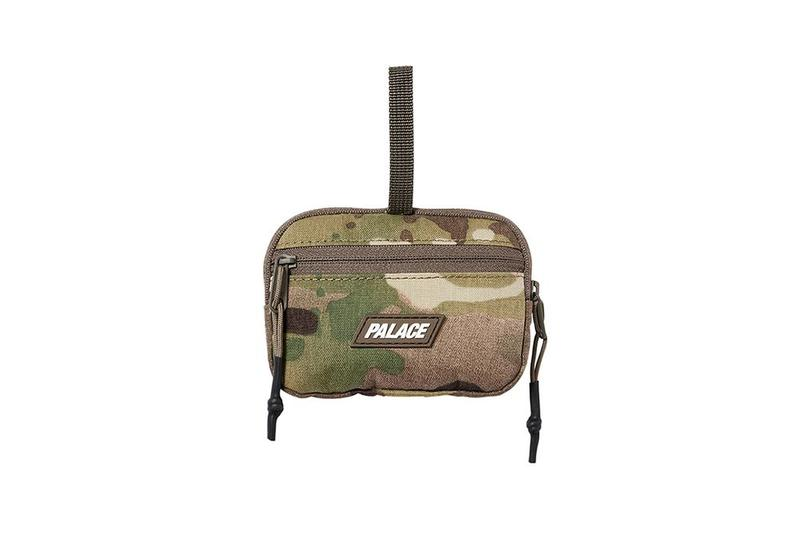 Palace Fall Winter 2019 August Drop 3 Bag Camouflage Green Tan