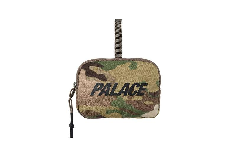 Palace Fall Winter 2019 August Drop 3 Bag Camouflage Tan Green