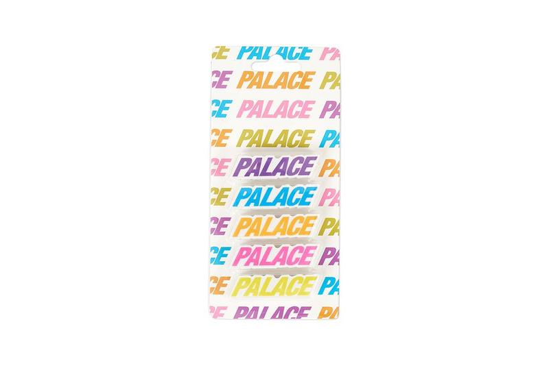 Palace Fall Winter 2019 August Drop 3 Stickers Blue Pink Purple