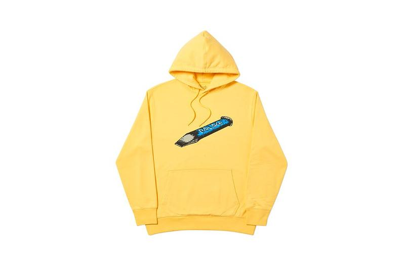 Palace Fall Winter 2019 August Drop 3 Hoodie Yellow