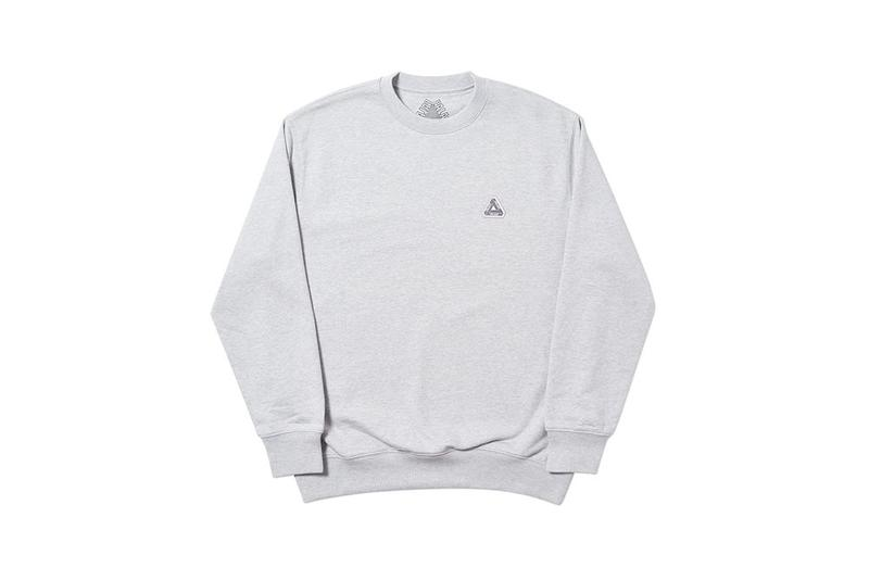 Palace Fall Winter 2019 August Drop 3 Sweater Grey
