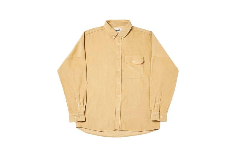 Palace Fall Winter 2019 August Drop 3 Shirt Tan