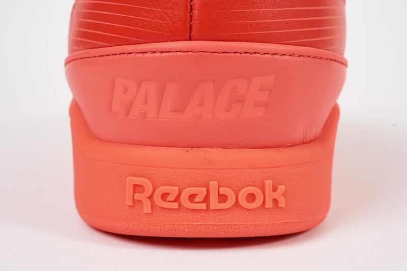 Palace x Reebok Classics Workout Low Red