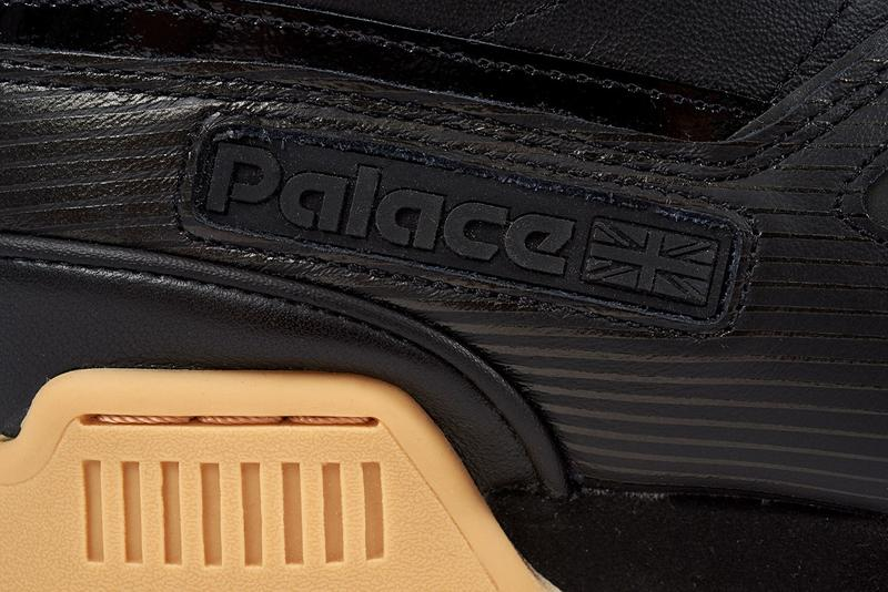 Palace x Reebok Classics Workout Low Black