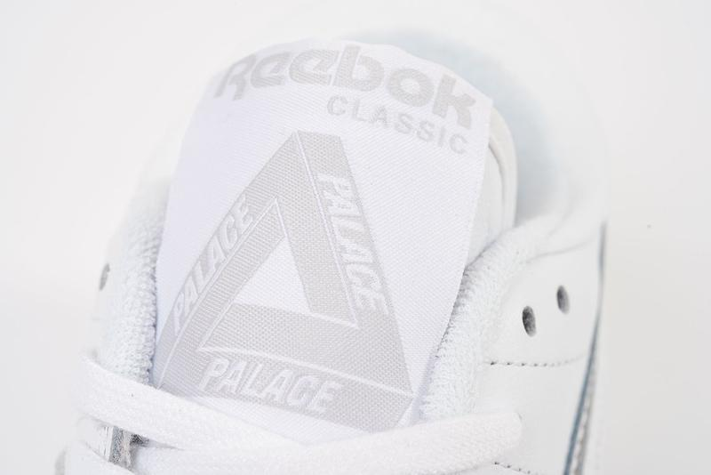 Palace x Reebok Classics Workout Low White