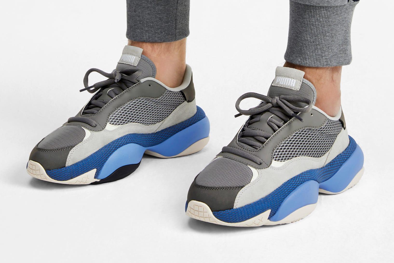 Blue Grey Alteration Blitz Sneaker