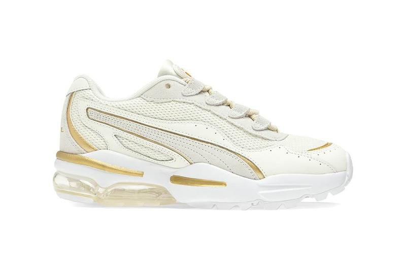puma cell stellar soft white gold sneaker womens minimalist shoe footwear
