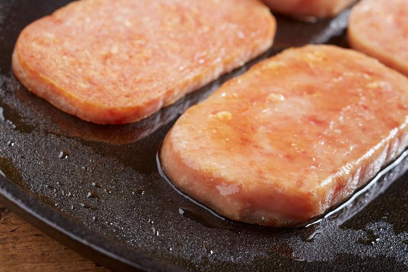 pumpkin spice spam ham fall flavor breakfast food